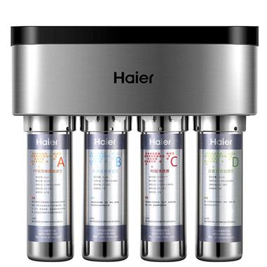海尔(Haier)HRO5029-4净水机 低废水自吸泵不锈钢RO反渗透纯水