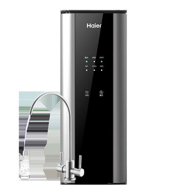 海尔智能厨房净水器HRO6H56-3 三年长效RO膜 600加仑大通量 纯、净双出水